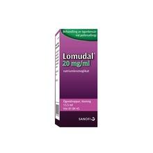 Lomudal - Ögondroppar, lösning 20 mg/ml Natriumkromoglikat 13,5 milliliter