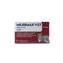 Milbemax vet. för katter - Filmdragerad tablett 4 styck
