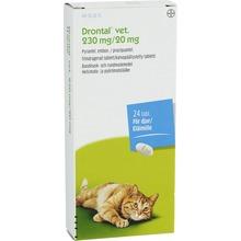 Drontal vet. - Filmdragerad tablett 230 mg/20 mg 24 tablett(er)
