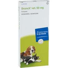 Droncit vet. - Tablett 50 mg 20 styck