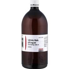Laktulos Meda - Oral lösning 670 mg/ml Laktulos 1000 milliliter