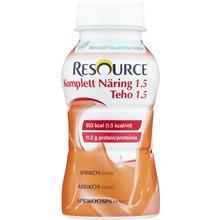 - drickfärdigt kosttillägg, aprikos 4 x 200 milliliter