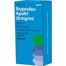 Ibuprofen Apofri - Oral suspension 20 mg/ml 100 milliliter