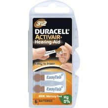Duracell - BATTERI ACTIVAIR ZINK-LUFT 312 6-pack