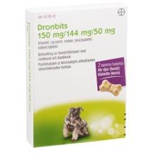Dronbits - Tablett 150 mg/144 mg/50 mg 2 tablett(er)