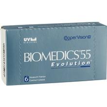 Biomedics 55 - Månadslins Biomedics 55 Ev. 6s 6 st