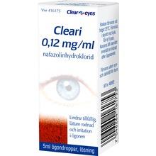 Cleari - Ögondroppar, lösning 0,12 mg/ml Nafazolin 5 milliliter