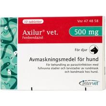 Axilur vet. - Tablett 500 mg 10 tablett(er)