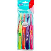 TePe Kids X-soft tandborste - Extra mjuk tandborste för barn. 4 st