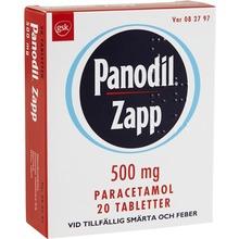 Panodil Zapp - Filmdragerad tablett 500 mg Paracetamol 20 styck