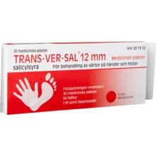 Trans-Ver-Sal 12 mm - Medicinskt plåster 15 % 20 styck