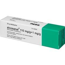 Alcosanal - Rektalsalva 110 mg/g 20 gram