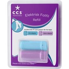 CCS - Refill till Elektrisk fotfil 1 st