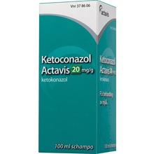 Ketoconazol Actavis - Schampo 20 mg/g Ketokonazol 100 milliliter