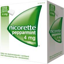Nicorette Pepparmint - Nikotintuggummi
