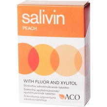 SALIVIN - SALIVIN TABL PEACH 50 G