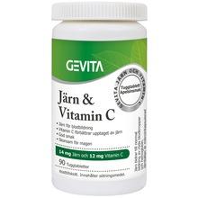 Gevita - Järn och Vitamin C 90 st