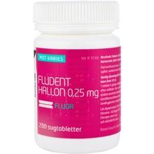 Fludent Hallon - Sugtablett 0,25 mg 200 styck