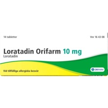 Loratadin Orifarm - Tablett 10 mg Loratadin 14 tablett(er)