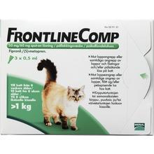 Frontline Comp Comp - Spot-on, lösning 50 mg/60 mg 3 x 0,5 milliliter