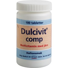 Dulcivit comp - Tablett 100 styck