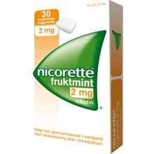 Nicorette Fruktmint - Nikotintuggummi