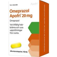 Omeprazol Apofri - Enterokapsel, hård 20 mg 28 kapsel/kapslar