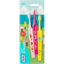 TePe Mini tandborste - Från 0 till 3 år. 3 st