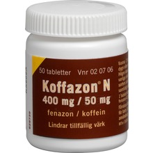 Koffazon N - Tablett 400 mg/50 mg 50 styck